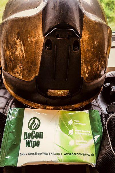 De-Wipe Fire Helmet