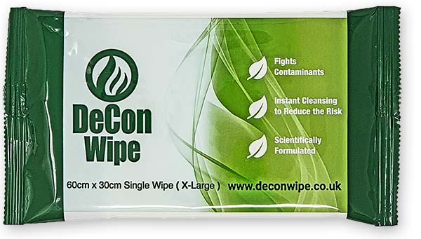 De-Wipe Single Wipe - 60x30cm