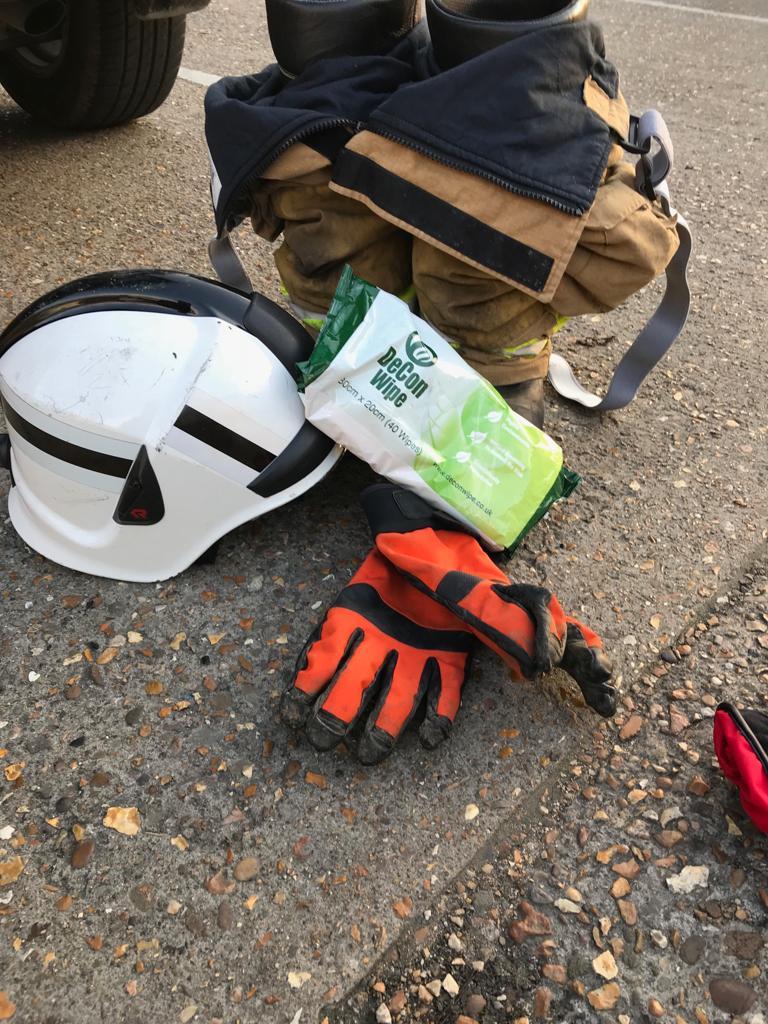 De-Wipe is an Essential Part of Firefighting Kit