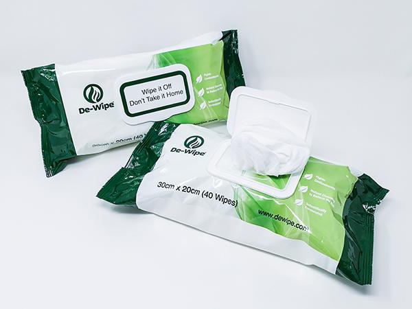 De-Wipe Decontamination Wipes - 40 multi-pack