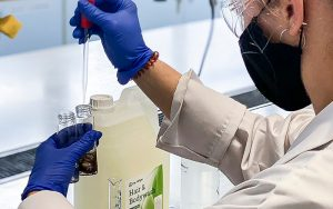 De-Wipe Hair and Body Wash Scientific Tests at MMU
